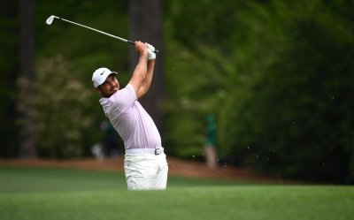 Second Round of the 2019 Masters Tournament in Augusta