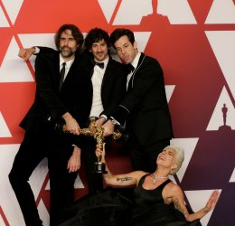 Andrew Wyatt, Anthony Rossomando, Mark Ronson and Lady Gaga wins Oscar at 91st Academy Awards