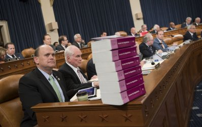 House Ways and Means Committee Markup of the Republican Tax Bill in Washington, D.C.