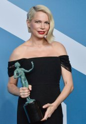 Michelle Williams wins award at the 26th annual SAG Awards in Los Angeles