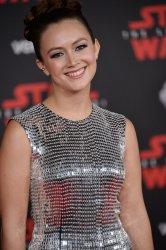 "Billie Lourd attends the ""Star Wars: The Last Jedi"" premiere in Los Angeles"