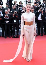Amber Heard attends the Cannes Film Festival