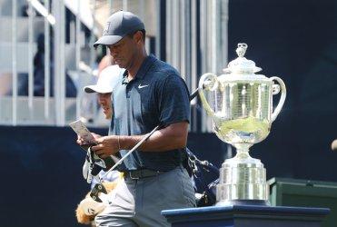 PGA golfers Tiger Woods
