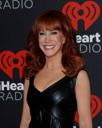 Kathy Griffin arrives for the iHeartRadio Music Festival