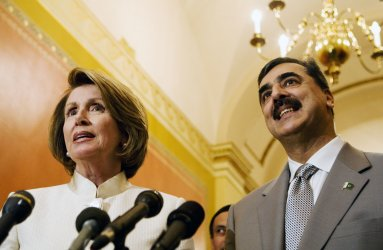 Pakistani Prime Minister Gilani meets with Speaker Pelosi in Washington