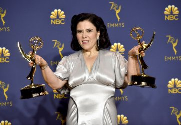 Alex Borstein wins award at the 70th Primetime Emmy Awards in Los Angeles