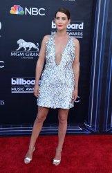 Cobie Smulders attends the 2019 Billboard Music Awards in Las Vegas