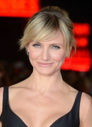 "Cameron Diaz attends The World Premiere of ""Gambit"" in London"