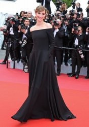 Louise Bourgoin attends the Cannes Film Festival