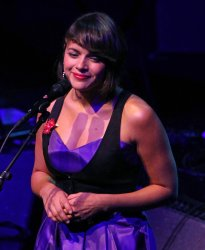 Norah Jones performs in concert in Paris