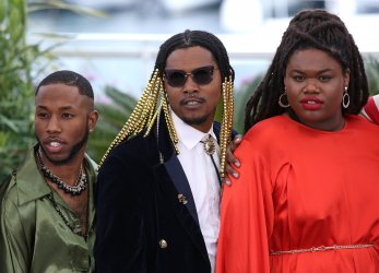 Paris Warren and Christopher Quarles attend the Cannes Film Festival