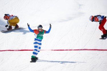 Ladies' Snowboard Cross at Pyeongchang 2018 Winter Olympics