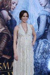 """Emily Blunt attends """"The Huntsman: Winter's War"""" premiere in Los Angeles"""