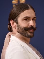 Jonathan Van Ness attends the 70th annual Primetime Emmy Awards in Los Angeles