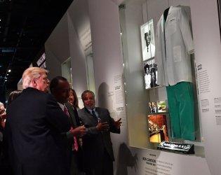 President Trump Visits African American Museum in Washington