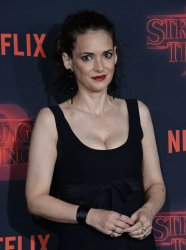 """Winona Ryder attends the """"Stranger Things"""" Season 2 premiere in Los Angeles"""