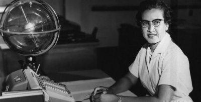 Katherine Johnson at NASA Langley Research Center