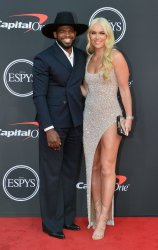 Lindsey Vonn and P.K. Subban attend the 27th annual ESPY Awards in Los Angeles