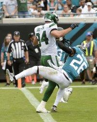 New York Jets versus the Jacksonville Jaguars