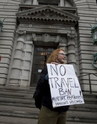 U.S. 9th Circuit Court of Appeals hears arguments on halt to  travel ban