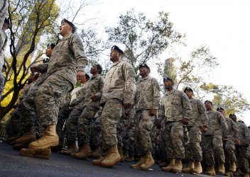 Veterans Day Parade in New York