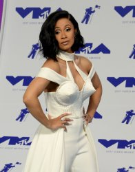 Cardi B attends the 2017 MTV Video Music Awards in Inglewood, California