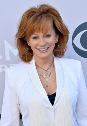 Reba McEntire attends the 52nd annual Academy of Country Music Awards in Las Vegas