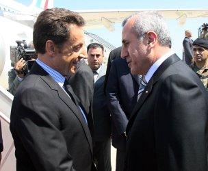 French President Nicolas Sarkozy visits Lebanon after historic presidential election
