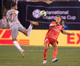Real Madrid vs  Roma at the International Champions Cup