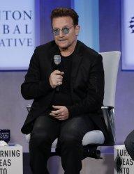Madeleine Albright and Bono speak at CGI