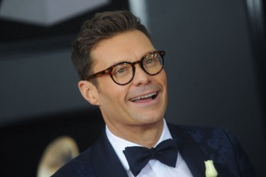 Ryan Seacrest arrives at 60th Annual Grammy Awards in New York