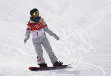Ladies' Snowboard Halfpipe Qualification at the 2018 Winter Olympics