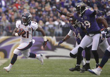 Denver Broncos vs Baltimore Ravens in Baltimore