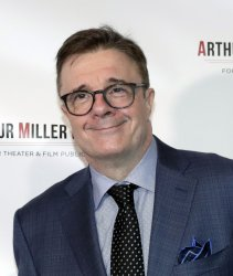 Nathan Lane arrives at the Arthur Miller Foundation Honors