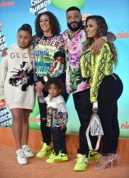 DJ Khaled attends Kids' Choice Awards 2019