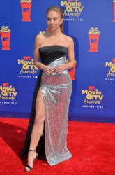Sydney Sweeney attends the MTV Movie & TV Awards in Santa Monica, California