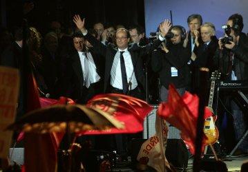 Francois Hollande elected President of France