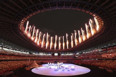 Fireworks highlight start of Opening Ceremonies