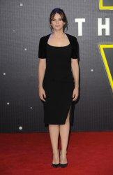 "Felicity Jones attends the European Premiere of ""Star Wars - The Force Awakens"" in London"