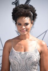 Kimberly Elise attends the BET Awards in Los Angeles