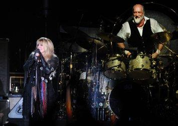 Fleetwood Mac perform at Arena in London
