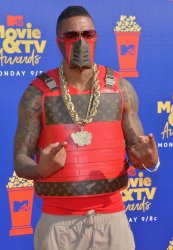Nick Cannon attends the MTV Movie & TV Awards in Santa Monica, California