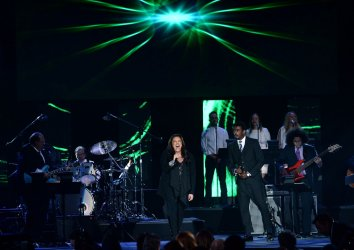 Ana Carolina and Seu Jorge perform at the Person of the Year tribute in Las Vegas