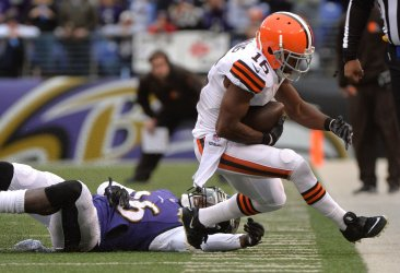 Cleveland Browns vs. Baltimore Ravens in Baltimore, Maryland