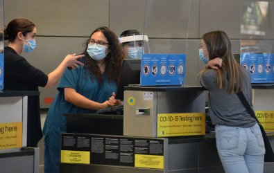 L.A Airport Offers COVID-19 Testing
