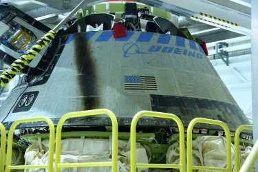 Boeing Starliner returned to its processing facility at the Kennedy Space Center