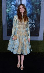 "Alice Englert attends the ""Beautiful Creatures"" premiere in Los Angeles"