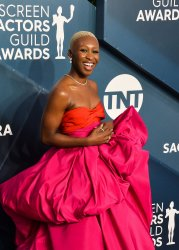 Cynthia Erivo attends the 26th annual SAG Awards in Los Angeles