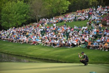 Round 1 of the Masters in Augusta, Georgia
