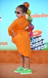 Taylen Biggs attends Kids' Choice Awards 2019